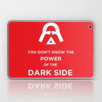 The Power of the Dark Side Laptop & iPad Skin