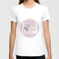 Dedicated Follower Of Fashion  Womens Fitted Tee White SMALL