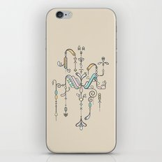 TIOH TWO iPhone & iPod Skin