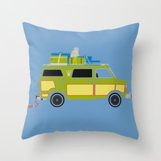 The Family Vanster Throw Pillow
