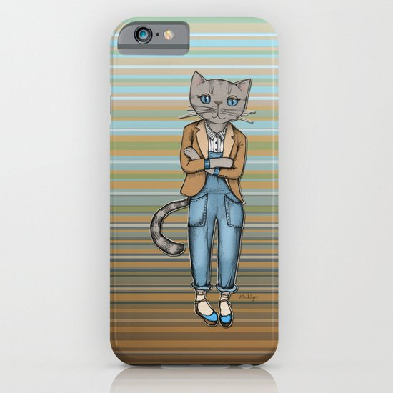 Hipster Kitty Cool iPhone & iPod Case
