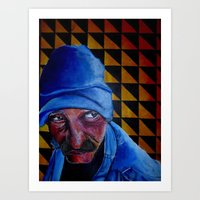 Homeless. Art Print