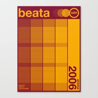beata single hop Canvas Print
