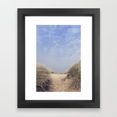 The Way To The Beach II Framed Art Print