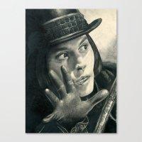 Willy Wonka - Chocolate … Canvas Print