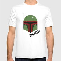 The FETT! Mens Fitted Tee White SMALL