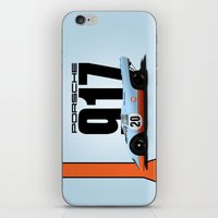Porsche 917-022 iPhone & iPod Skin