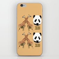 XOXO Wild Animals iPhone & iPod Skin