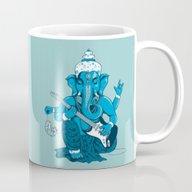 Ganesha Rocks ! (v3) Mug