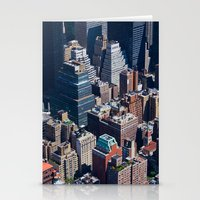 New York City - Manhatta… Stationery Cards