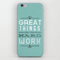 Great Things... iPhone & iPod Skin
