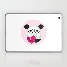 Pixel Panda - Broken Heart Laptop & iPad Skin