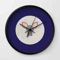 ALDWYN THE BAT Wall Clock