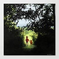 Hundred Acre Wood Canvas Print