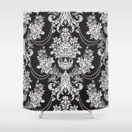 Vintage Pattern Shower Curtain