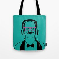 Hipsterstein Tote Bag