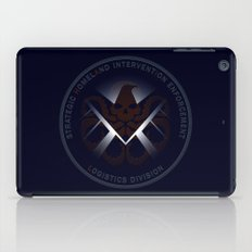 Hidden HYDRA - S.H.I.E.L.D. Logo with Wording iPad Case