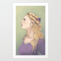 Maiden Art Print