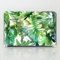 VIBE of the Jungle  {A-green} iPad Case