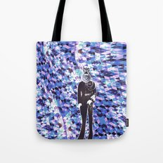 General Gears on blue Tote Bag