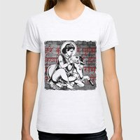 Gopala  Womens Fitted Tee Ash Grey SMALL