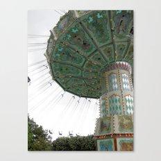 Jardin d'Acclimatation Ride, Paris Canvas Print