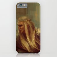 iPhone & iPod Case featuring Thranduil The Faithless Woodland Sprite by nlmda