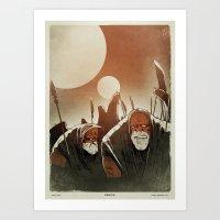 Fallen: II. Art Print