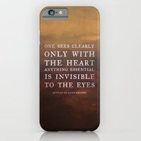 iPhone & iPod Case featuring I. Anything essential is invisible to the eyes. by Zyanya Lorenzo