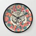 bengal mandala Wall Clock