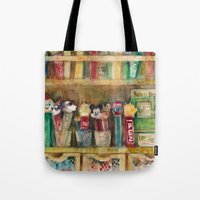 Pez Collection Tote Bag