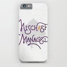 Mischief Managed iPhone 6 Slim Case