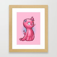 Toycat Framed Art Print