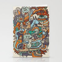 Punky Redux Stationery Cards