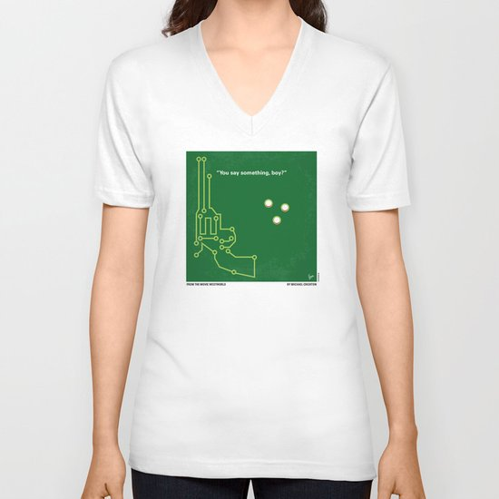 No231 My Westworld minimal movie poster V-neck T-shirt