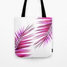 pink palm leaf II Tote Bag