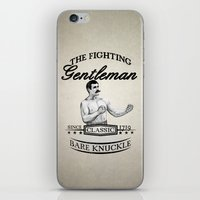 The Fighting Gentlemen iPhone & iPod Skin