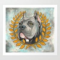Cane Corso Dog Art Print