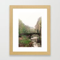 QUIET SPRING Framed Art Print