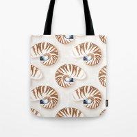 Nautilus - Linen Tote Bag