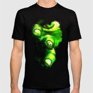 Hulk Mens Fitted Tee Black SMALL