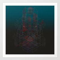 Forgotten Crypt of the Amnesiac Immortal Art Print