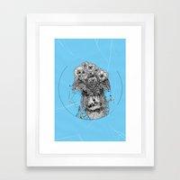 Monster III Framed Art Print