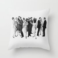 the cold war Throw Pillow