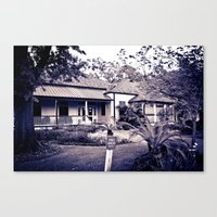 Audubon Clubhouse Canvas Print