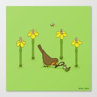 Perfect Disguise  Canvas Print