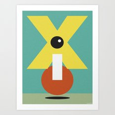 XCLAMATION POINT Art Print