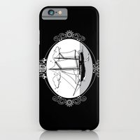 iPhone & iPod Case featuring Sailing Ship Oval by CSNSArt