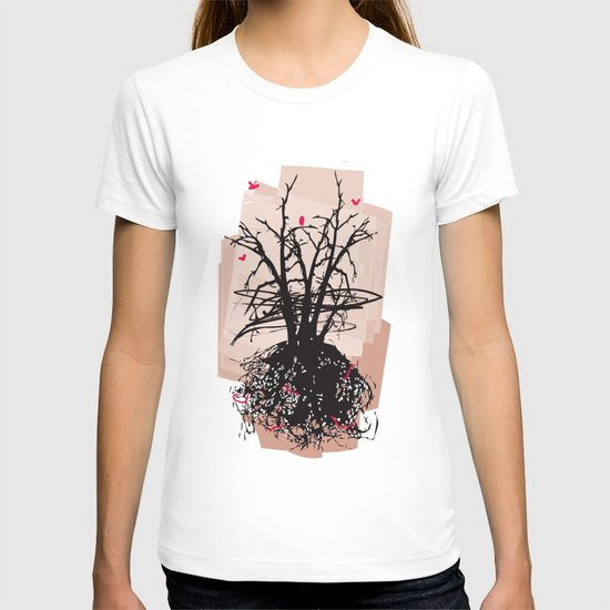 Birds and the Sky T-shirt