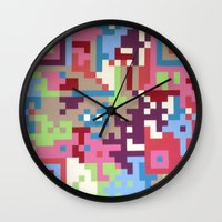 Number Four Multicolour  Wall Clock